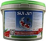 SUI JIN Teichprodukte 5kg(5L) Fadenalgenvernichter O2 - Sofortwirkung gegen Fadenalgen