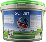 SUI JIN Teichprodukte AlgenStopp Phophatbinder für 125.000 L (2500 ml)