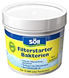 Söll 11602 FilterstarterBakterien hochreine Mikroorganismen für Teiche 100 g - natürliche...